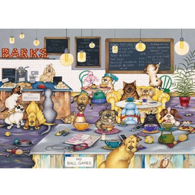 Barks Cafe - 1000pc Puzzle