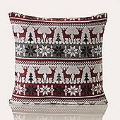 Festive Home Oslo Christmas Cushion Cover - 18x18 Inches (46x46cm)