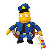 The Simpsons Chief Wiggum Plush Doll