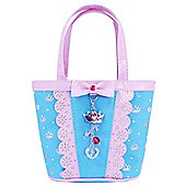 Pink Poppy Sweetness and Charms Handbag (Blue) - Accessories