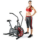 Marcy NS-1000 Fan Exercise Bike with Air Resistance System