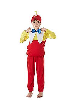 Disney Alice in Wonderland Tweedle Dee Fancy Dress Costume - Multi