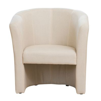 Sofa Collection Vilaine Fabric Tub Chair - Beige