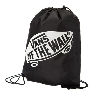 595686aa76d Vans G Benched Bag Onyx Black White Swim Sports Beach Bag Backpack