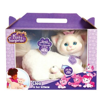 Kitty Surprise Plush Cleo