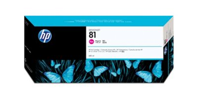 HP 81 Dye Ink Cartridge -Magenta