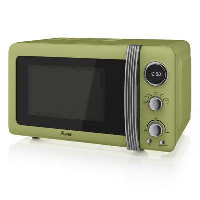 Swan 20L Digital Microwave - Green