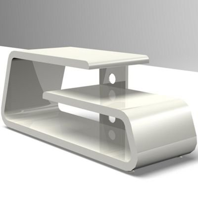 Gecko Gamma TV Stand in Gloss White for 32 inch -50 inch TVs