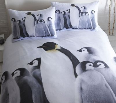 Baby Penguin Super King Size Duvet