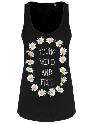 Young Wild & Free Women's Black Floaty Vest