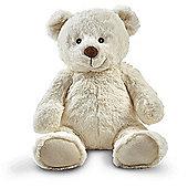 Snuggle Buddies Friendship Teddy- Pop (Cream)