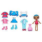 Lalaloopsy Minis Style 'n' Swap Doll - Mittens Fluff 'n' Stuff