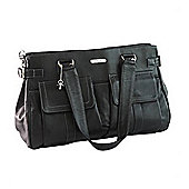 Vanchi Sydney Satchel Changing Bag Black