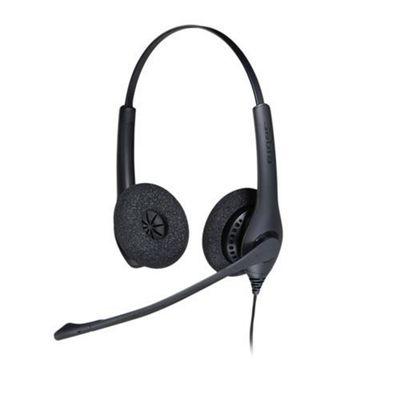 Jabra BIZ 1500 Duo QD Binaural Head-band Black headset