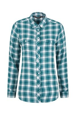 Mountain Warehouse Willow Brushed Flannel Ls Womens Shirt