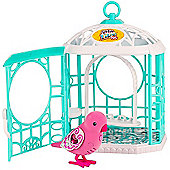 Little Live Pets Bird Cage with Ruby Belle Pet Bird