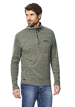 Regatta Tayson Half Zip Fleece - Green