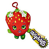 Shopkins 'Strawberry Kiss' Hanging Plush Backpack Clip