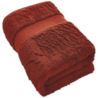 Egyptian Luxury Hand Towel 50X100 - Burnt Red