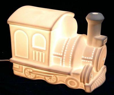3D Ceramic Night Light - Train