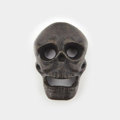 Jeray The Mixology Collection Cast Iron Wall Mounted Skull Bottle Opener