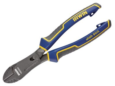 Irwin Vise Grip Max Leverage Diagonal Cutting Plier with PowerSlot 200mm (8in)