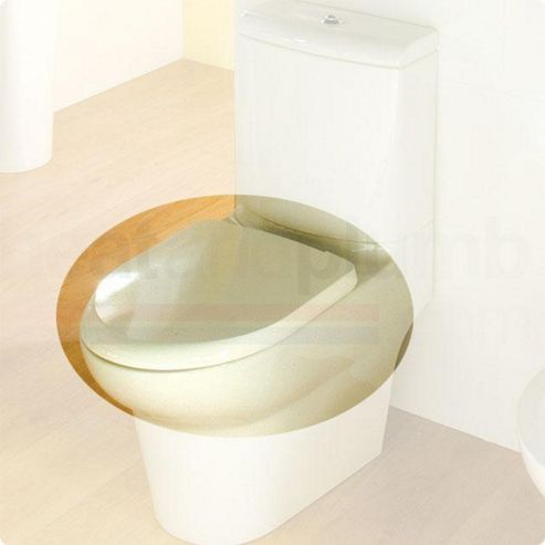 RAK Infinity Wrap Over Plastic Toilet Seat with Soft Close Hinge