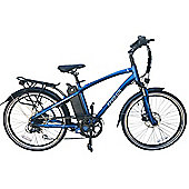 FreeGo Eagle Crossbar 10Ah Electric Bike Blue