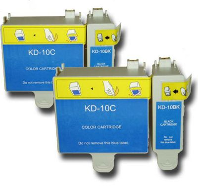 The Ink Squid 4 chipped Ink Cartridges Compatible for Kodak Easyshare Printers.