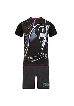 Star Wars Boys Short Pyjamas - Black