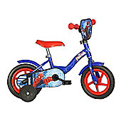 Spiderman Bicycle - Toddler Bike - 16 inches - Blue - Dino Bikes