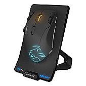 ROCCAT Leadr Wireless 12000dpi Owl-Eye Optical Sensor Multi-Button RGB Gaming Mouse - Black