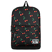 RockSax Cherry Pie Black Backpack 32x42x11cm