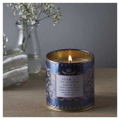Fox & Ivy Jasmine Tea Luxury Scented Filled Candle