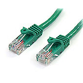 StarTech Cat 5e Cables RJ-45 - Cat5e UTP 350 MHz PVC 3 m Green