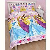 Disney Princess Enchanting Double Duvet Cover and Pillowcase Set