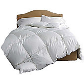 King Luxury Goose Feather And Down Duvet 100% Cotton Cover 13.5 Tog