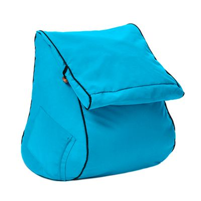 Turquoise 'Kai' Water Resistant Outdoor Bean Bag Wedge Lounger Seat