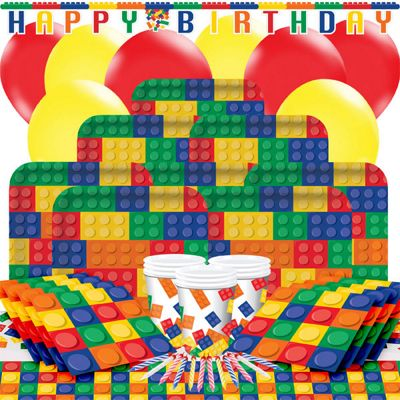 Block Party Party Pack - Deluxe Party for 16