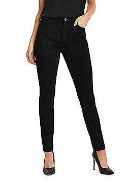 Wallis Petite Ellie Skinny Jeans - Black