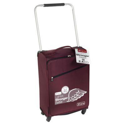 Z Frame Super-Lightweight 4-Wheel Suitcase, Aubergine Medium