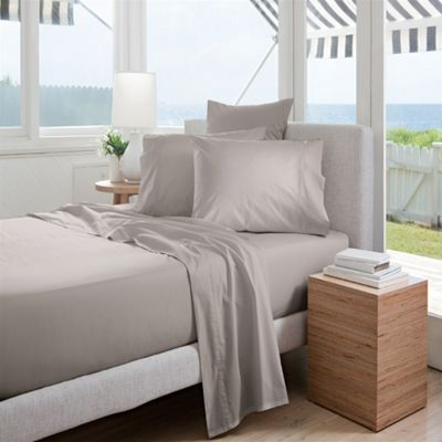 Sheridan Classic Percale 300 Thread Count Dove Flat Sheet - King