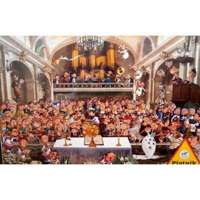 Church Wedding - F.Ruyer Puzzle