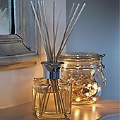 Harbour Housewares Amber Lily Scented Reed Diffuser Air Freshener Set. 100ml