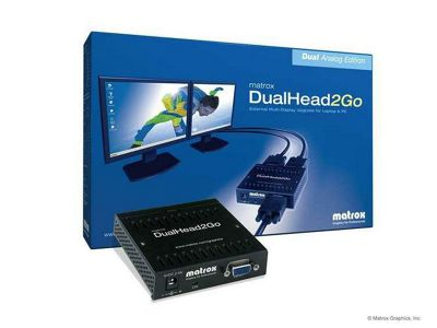 Matrox Electronic Systems DualHead2Go Analog Edition