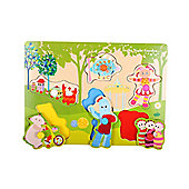 In The Night Garden In The Night Garden Pick and Place Wooden Puzzle