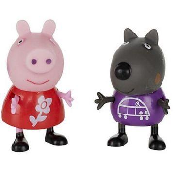 Peppa Pig Theme Park Figures Peppa Pig & Danny Dog