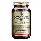 Solgar Norwegian Cod Liver Oil Softgels 250