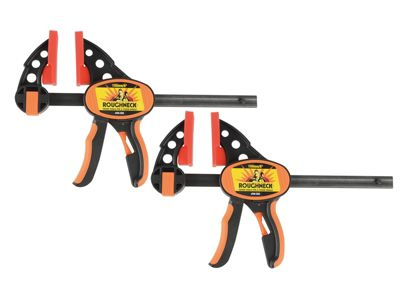 Roughneck Ratcheting Bar Clamp & Separator 150mm (6in) Twin Pack