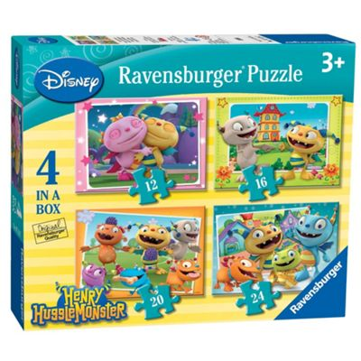 Henry Hugglemonster 4 in Box Jigsaw Puzzles - Games/Puzzles
